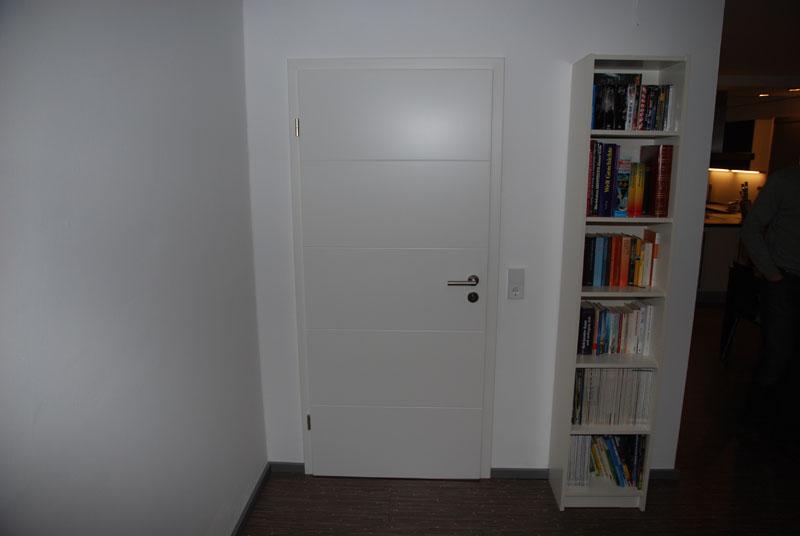 Zimmertür weiß  Innentüren - TS-Montagebau